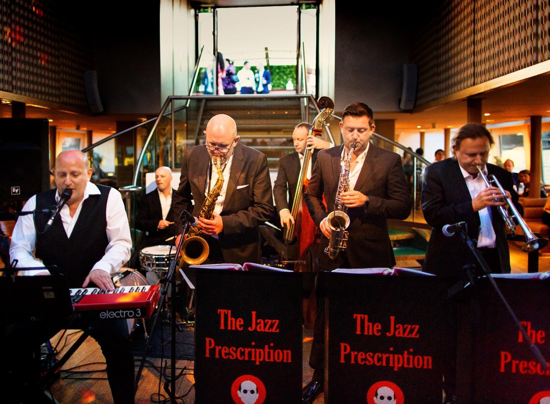 Jazz Wedding Band performing